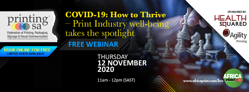 COVID-19: How to Thrive – Print Industry wellbeing takes the spotlight